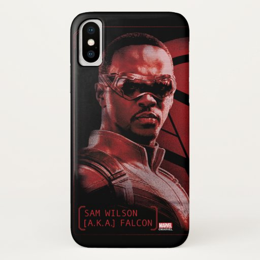 Sam Wilson A.K.A. The Falcon iPhone X Case