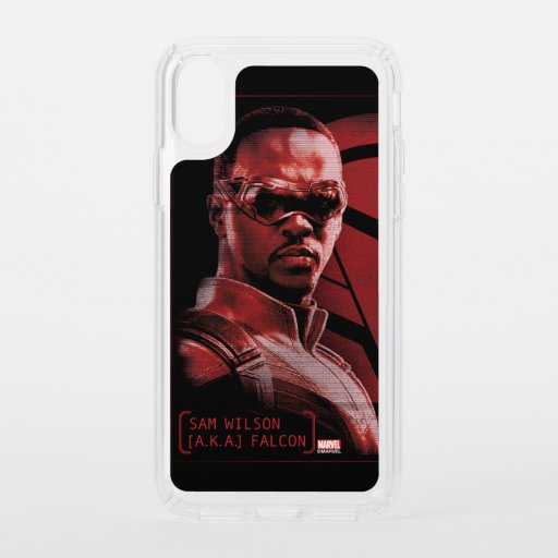 Sam Wilson A.K.A. The Falcon Speck iPhone X Case