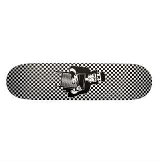 Sam With Washboard Skateboard
