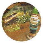 Sam y el cocodrilo platos de comidas