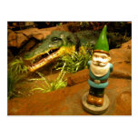 Sam y el cocodrilo tarjetas postales