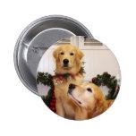 Sam y Neuman - perros perdigueros de oro - Gelao Pins