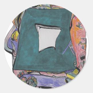 Samach Classic Round Sticker