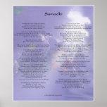 Samadhi poem by Yogananda Print