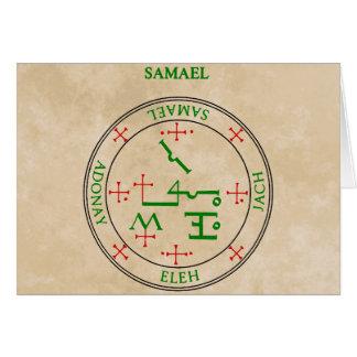 samael greeting cards