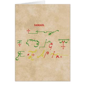 samael cards