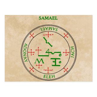 samael post card