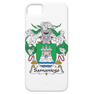Samaniego Family Crest iPhone 5/5S Cases