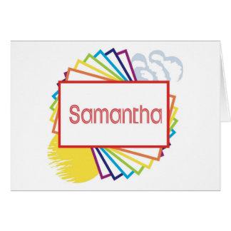 Samantha Card