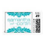 Samantha & Cortlin Postage Stamps