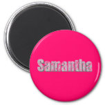 Samantha fridge magnet magnet