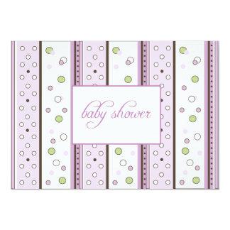 Samantha Lavender Baby Shower Invitation