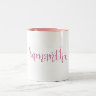 Samantha mug in pink