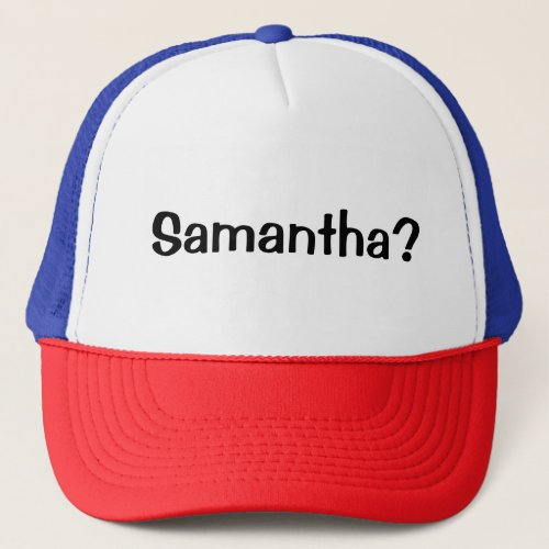 Samantha Olaf Frozen 2 Inspired Hat