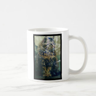 Samantha the Cat Artwork Coffee Mug