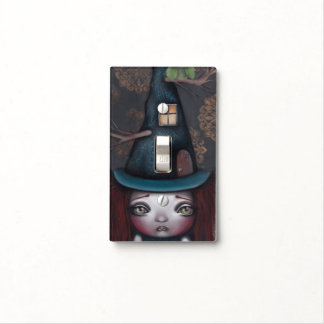 Samantha Witch Light Switch Light Switch Cover