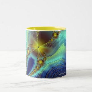 Samantha's Golden Butterfly Mug