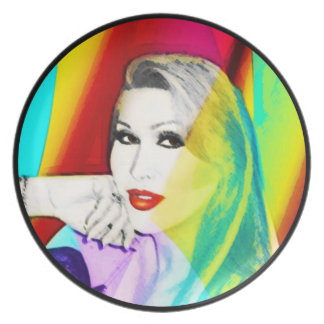 Samantha's Rainbow Plate