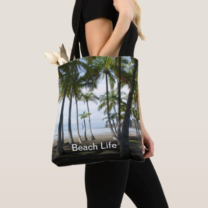 Sámara Beach All Over Print Tote Bag