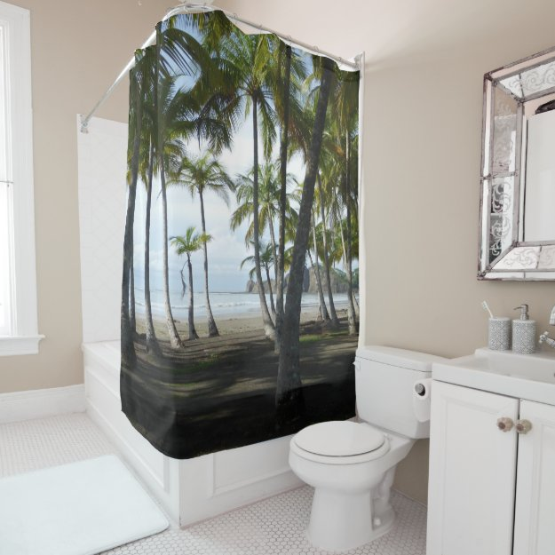 Sàmara Beach Shower Curtain