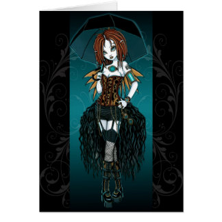 Samara Steampunk Cybergoth Fairy Card