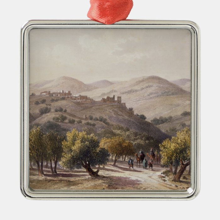 Samaria, engraved by Jean Jacottet Metal Ornament