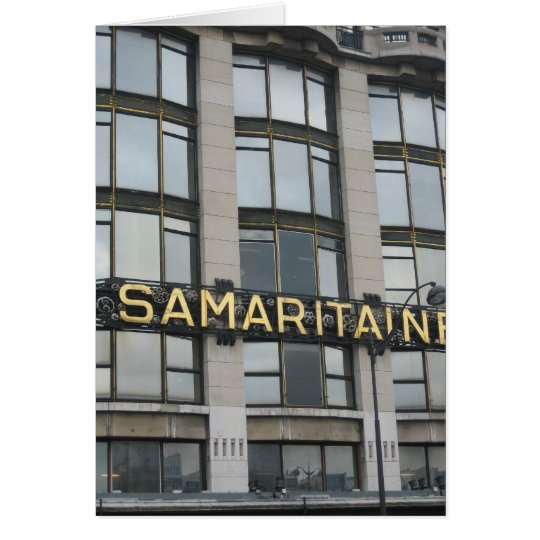 Samaritaine Card