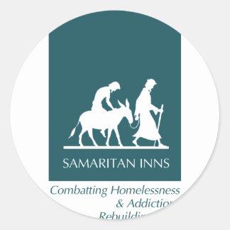 Samaritan Inns Classic Round Sticker