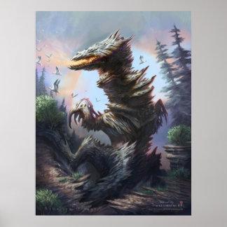 Samarium Dragon Poster