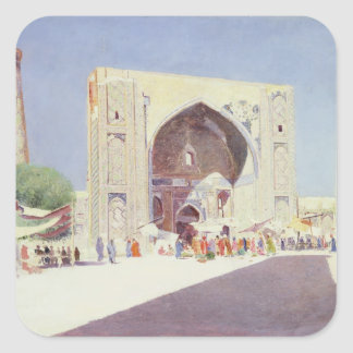 Samarkand, 1869-71 square sticker