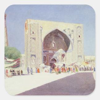 Samarkand, 1869-71 square sticker