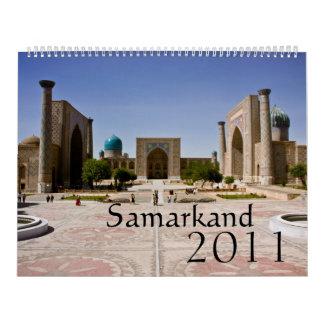 Samarkand 2011 Calendar