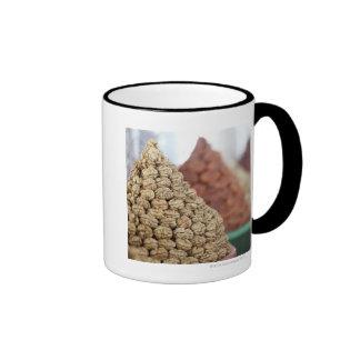 Samarkand, Uzbekistan. Nuts and apricots for Coffee Mugs