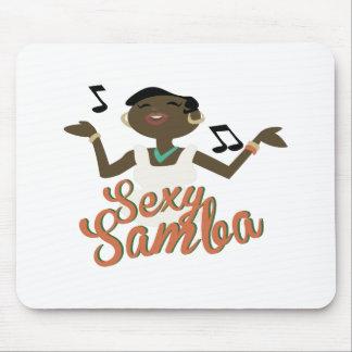 Samba atractiva alfombrilla de raton