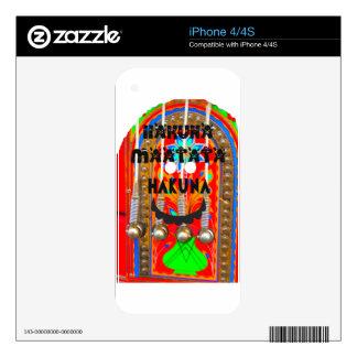 Samba Carnival colors Hakuna Matata blings.png iPhone 4 Skin