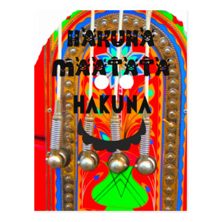 Samba Carnival colors Hakuna Matata blings.png Postcard