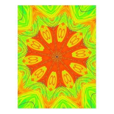 Beach Themed Samba Colors Postcard