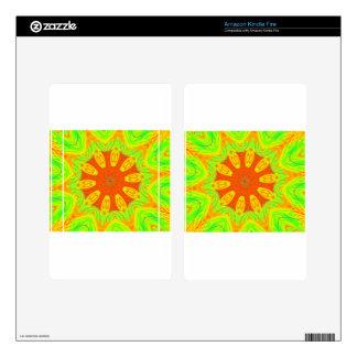 Samba Colors Skin For Kindle Fire