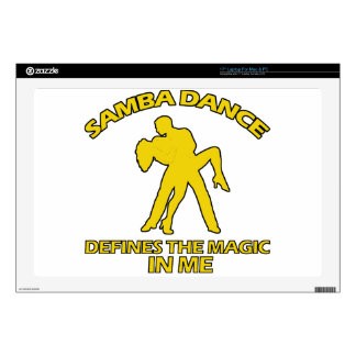 "samba DANCE DESIGNS 17"" Laptop Decal"