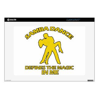 samba DANCE DESIGNS Laptop Decal