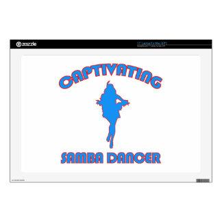SAMBA DANCE DESIGNS LAPTOP SKINS