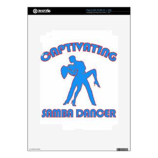 samba  DANCE DESIGNS Skin For iPad 2