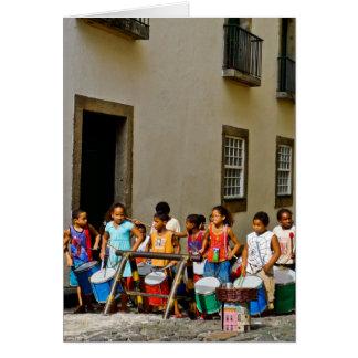 Samba de Rua Tarjeta De Felicitación