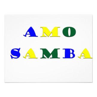 Samba del Amo Invitación Personalizada