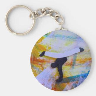 samba del hacha de los artes marciales del llaveros personalizados