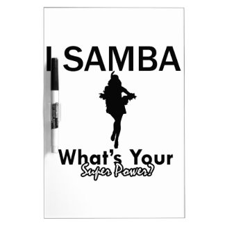 Samba designs Dry-Erase whiteboards