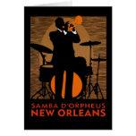 Samba D'Orpheus New Orleans Felicitaciones