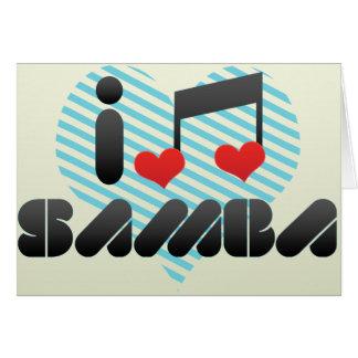 Samba fan card