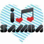 Samba fan photo cut outs