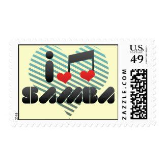 Samba fan stamp